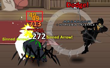 Sinned Arrow effect 2